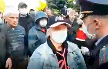 Падрабязнасці міліцэйскай правакацыі ў Гародні