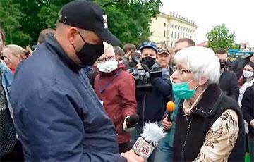 81-летняя жительница Гродно: Наконец-то вдохнула глоток свободы