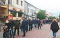 Жители Бреста массово вышли на улицы
