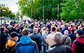 В Минске после пикета на Комаровском рынке произошли задержания