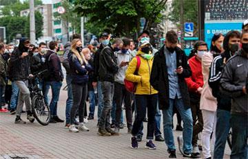 Тысячи белорусов выразили свой протест