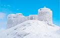 В Карпатах в первый день лета выпал снег