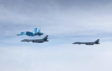 В российских СМИ переполох из-за бомбардировщиков США в Украине