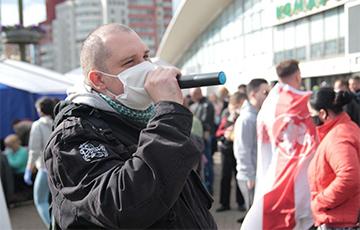 Активист «Европейской Беларуси» может умереть в тюрьме