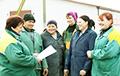 Пад Камянцом работнікі аграрнага комплексу адмовіліся падпісвацца за Лукашэнку
