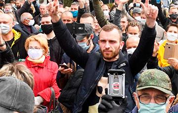 Юрий Хащеватский: Лукашенко проиграл нам первый бой