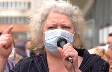 Volha Nikalaichyk Kept In Center For Isolation Of Offenders In Akrestsin Street For 28 Days