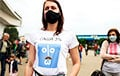 Белоруска пришла на пикет в майке «Саша 3%»