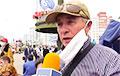 Капитан запаса на пикете в Минске: Военные, присоединитесь к протестующим