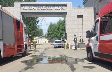 В РФ произошел взрыв на строящемся корабле «Иван Папанин»