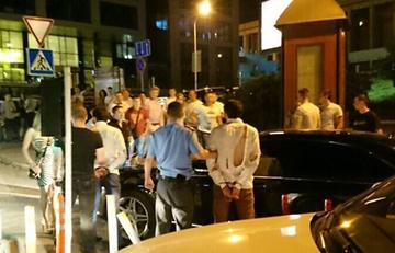 Массовая драка на Зыбицкой попала на видео