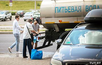 Стало известно, куда утром в пятницу доставили цистерны с питьевой водой для минчан