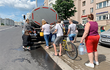 Collapse In Minsk: Poisoned Water Appeared In New Districts