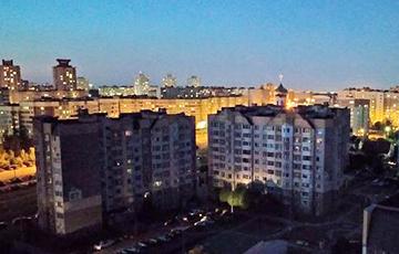 Минский микрорайон с отравленной водой остался еще и без света