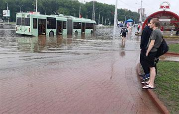 На Минск обрушилась стихия