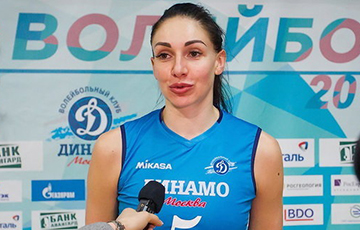Volleyball Player Alena Hendel: I Didn't Know That We Have So Many Brave People