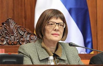 Спикер парламента Сербии заразилась коронавирусом