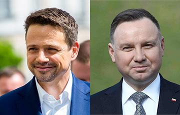 У Польшчы прайшлі дэбаты з удзелам кандыдатаў у прэзідэнты