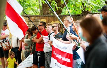 В Эстонии прошла акция солидарности с Беларусью