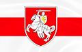 Белорусы поднимают национальный флаг над своими предприятиями