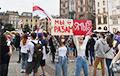 В Кракове прошла массовая акция солидарности с белорусами