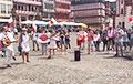 Акция солидарности с Беларусью прошла во Франкфурте-на-Майне