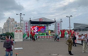 МВД: В праздновании 3 июля по всей стране приняли участие 3% белорусов