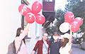 Фотофакт: На выходных минчане гуляли с шарами «Свободу политзаключенным»