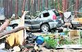 Ураган разрушил палаточный городок в Красноярском крае