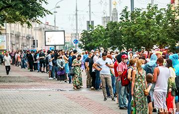 Татьяна Северинец: В Беларуси началась акция массового неповиновения