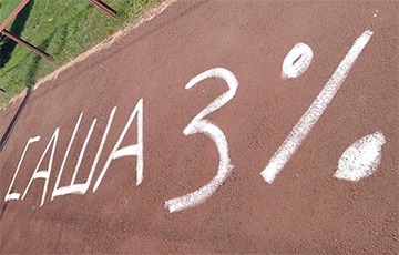 Belarusian Roads And Streets Reminded Sasha How Many Percents He Has