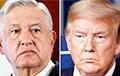 Трамп впервые проводит встречу с президентом Мексики
