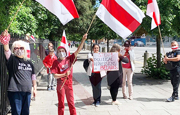 Дублин поддержал свободную Беларусь