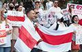Белорусы Монреаля вышли на акцию солидарности