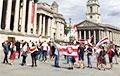 В центре Лондона потребовали свободных выборов в Беларуси