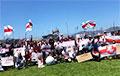 Белорусы Сан-Франциско выстроились в огромную «цепь свободы»: потрясающее видео