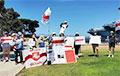 Сан-Диего поддержал свободную Беларусь