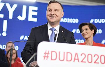 Уточненные данные экзитпола: Дуда побеждает на президентских выборах в Польше