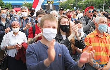 Вероника Мищенко: В Беларуси настоящая протестная лавина