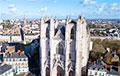 В Нанте загорелся один из крупнейших готических соборов Франции