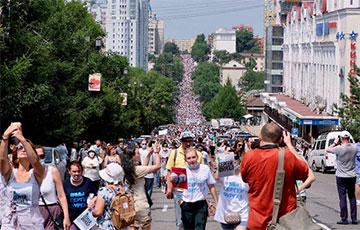 На Дальнем Востоке РФ вспыхнули новые митинги против власти Кремля