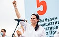 Sviatlana Tsikhanouskaya: If People Decide To Take To Streets, I Will Stand Beside Them