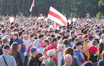 Sviatlana Tsikhanouskaya's Meeting In Minsk Set New Record