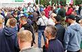 В Мозыре прошел массовый митинг за Светлану Тихановскую