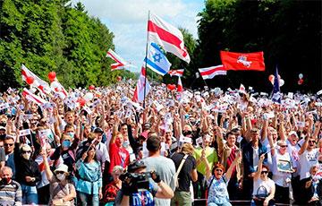 Яркие фото с митинга в Гродно