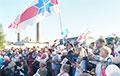 Фоторепортаж: Многолюдный митинг Тихановской в Слониме