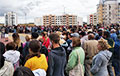 В Горках прошел многолюдный митинг в поддержку Тихановской