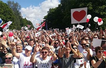 Города Беларуси выходят на митинги