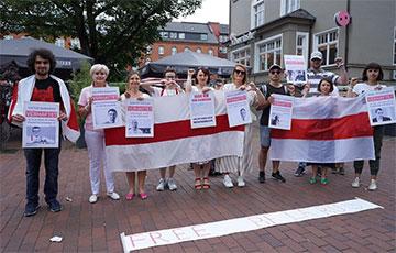 Акция солидарности с Беларусью прошла в Гамбурге