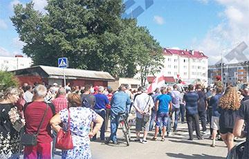 Петриков вышел на улицы